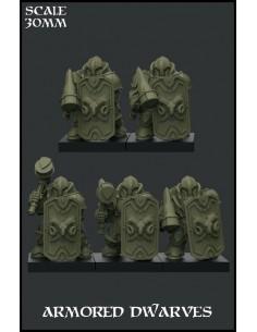 """Armored Dwarves"" Special Unit"