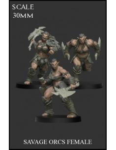 Savage Orcs Female 3...