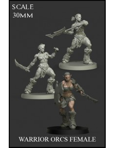 Warrior Orcs Female 3...