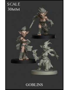 Goblins Female 3 Miniatures