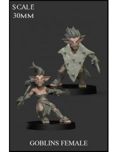 Goblins  Female 2 Miniatures
