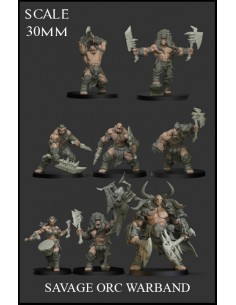 Savage Orc Warband 8...