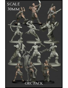 Orc Pack 12 Miniatures