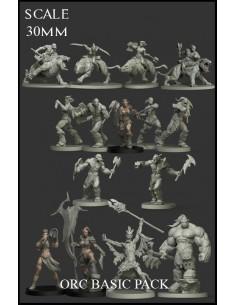 Orc Basic Pack 15 Miniaturas