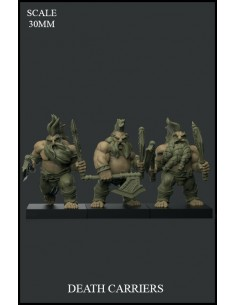 Death Carriers 3 Miniatures