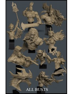 All Busts Orc Warband