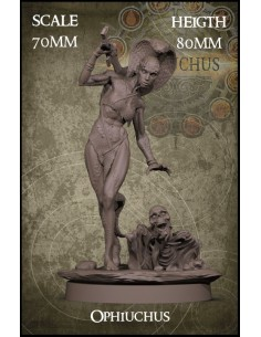 Ophiuchus 70mm Scale