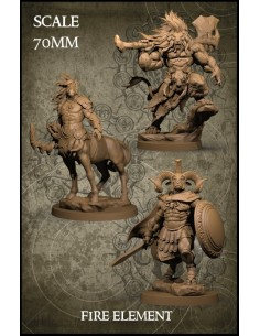 Fire Element 70mm Scale