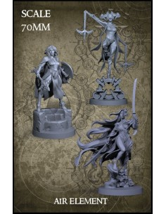 Air Element 70mm Scale