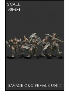 Savage Orc Female Unit