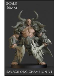 """Savage Orc Champion V1""..."