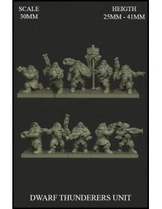 Dwarf Thunderers Unit