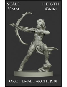 Orc Female Archer 01 Scale...