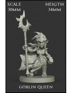 Goblin Queen Scale 30mm