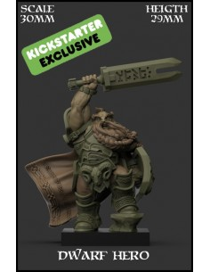Dwarf Hero KS Exclusive...