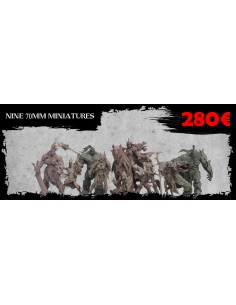All 70 MM Miniatures Orc...