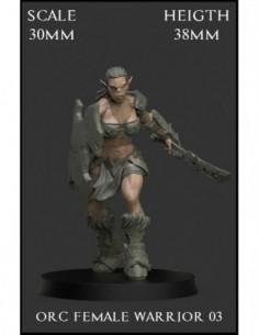 """Orc Female Warrior 03""..."