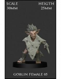 """Goblin Female 05"" 30mm Scale"