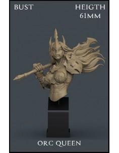 Orc Queen Bust