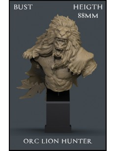 Orc Lion Hunter Bust