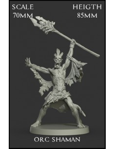 Orc Shaman Scale 70mm