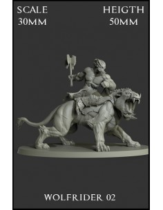Wolfrider 02 Scale 30mm