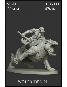 Wolfrider 01 Scale 30mm